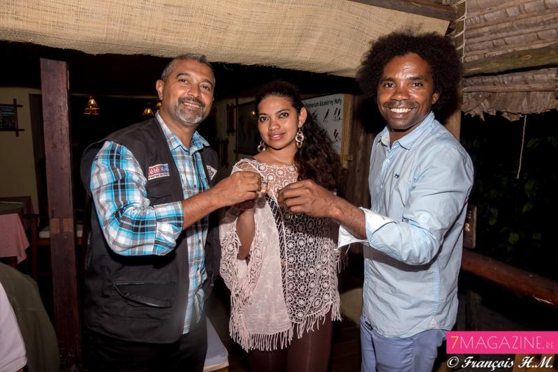 Thierry, Mia et Sylvain