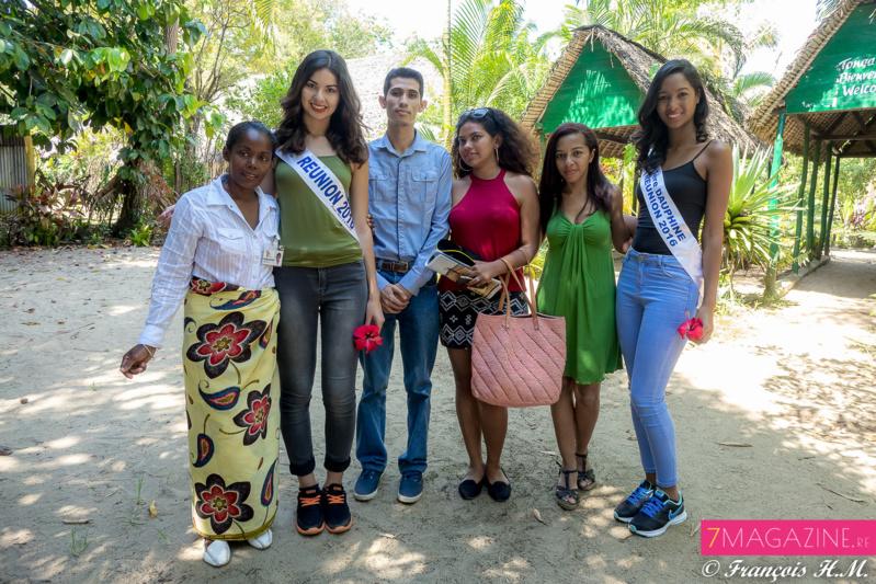 Avec l'équipe de Chrismiatours Madagascar
