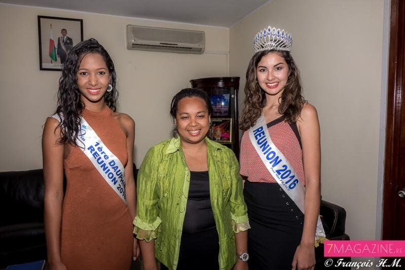 Ambre N'Guyen et Raïssa Cadarsi au Ministère du Tourisme de Madagascar