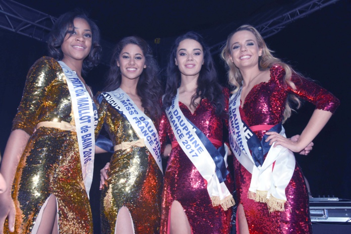 Alicia Aylies couronnée Miss France 2017