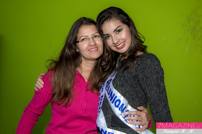 Avec sa maman Marie-Line