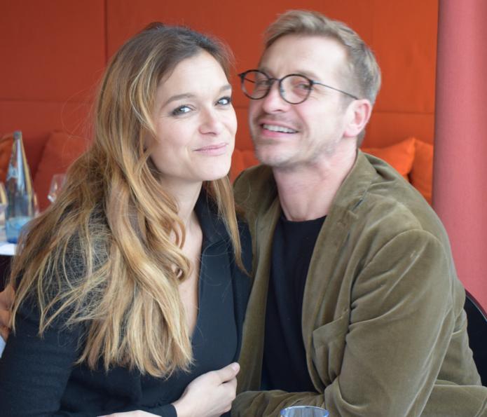 Célia Jourdheuil et Olivier Noël de Miss France Organisation