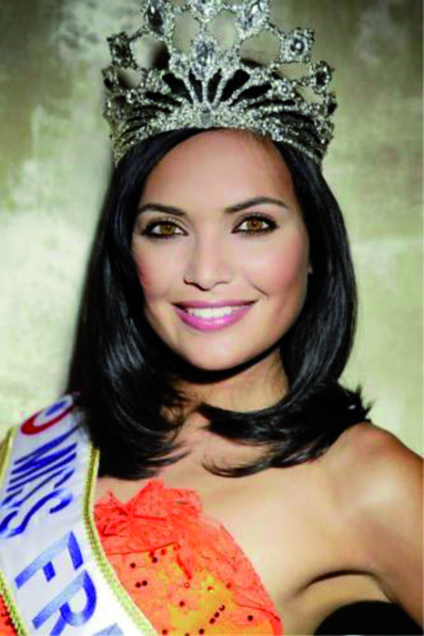 Valérie Bègue, Miss Réunion 2007 et Miss France 2008