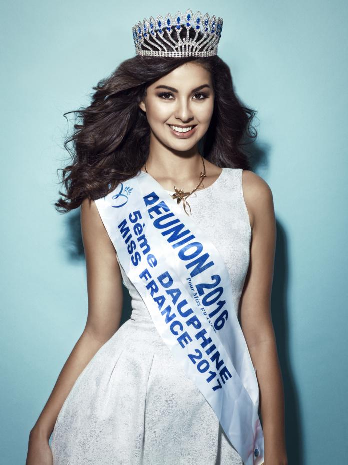 Ambre N'guyen, Miss Réunion 2016, 5ème dauphine Miss France 2017