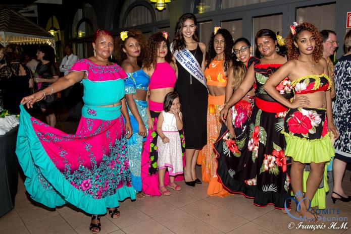 """Miss Réunion à la """"Swaré Kréol"""" de l'IAE"""