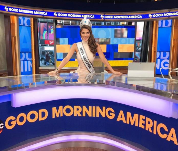 Iris a participé et participe encore à plein d'émissions télé aux Etats-Unis
