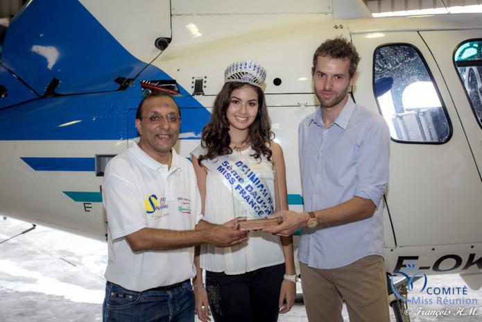 Un trophée a été remis à Hélilagon par 1000 Sourires