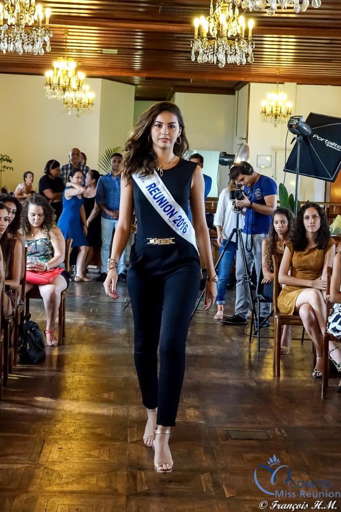 Ambre N'guyen, Miss Réunion 2016 et 5ème dauphine Miss France 2017, était là