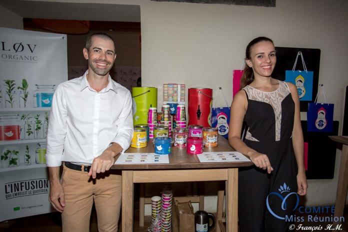 Bertrand Hulin et Alice Emerentienne ont lancé la marque de thé Kusmi Tea