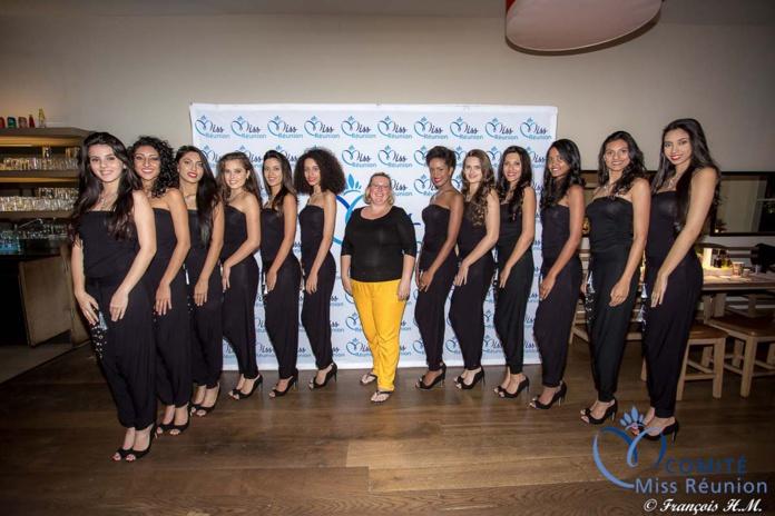 """Les 12 candidates 2017 à la soirée """"Ladies"""" du Vapiano"""
