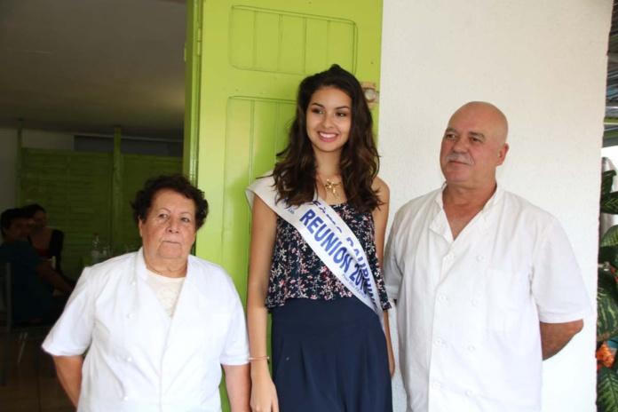 Miss Réunion avec Marie-Lise et Damien Ethève