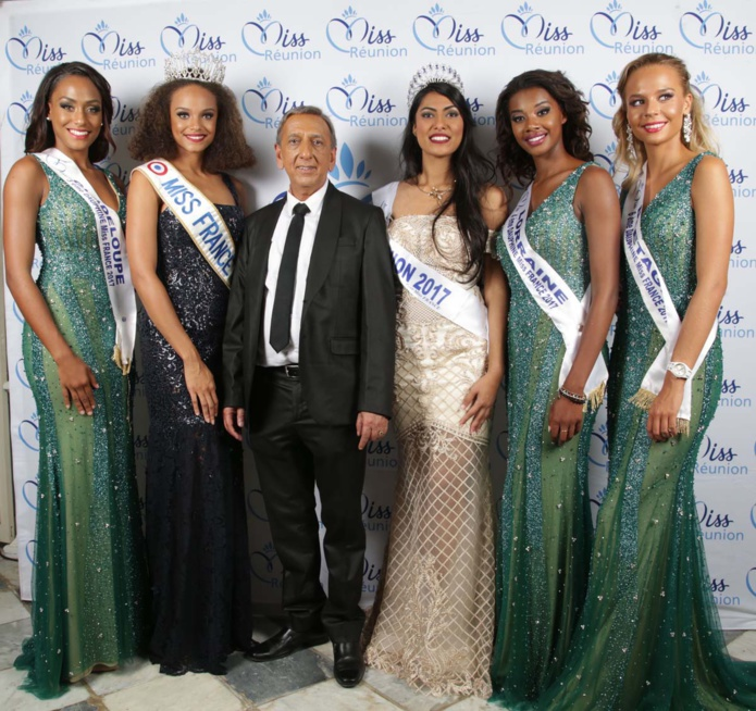 Avec Aziz Patel, délégué Miss France