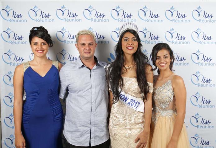 Avec Eddy Sery et ses miss