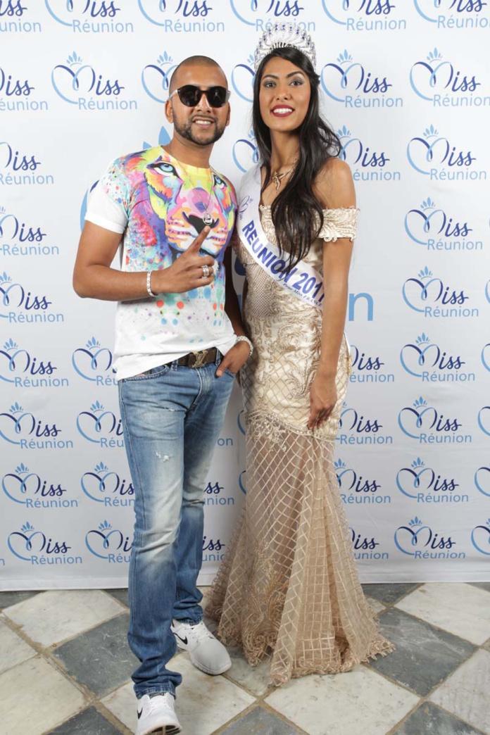 DJ Assad avec Miss Réunion