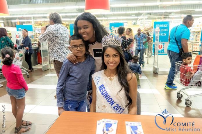 Audrey Chane Pao Kan en dédicaces à Saint-André: photos
