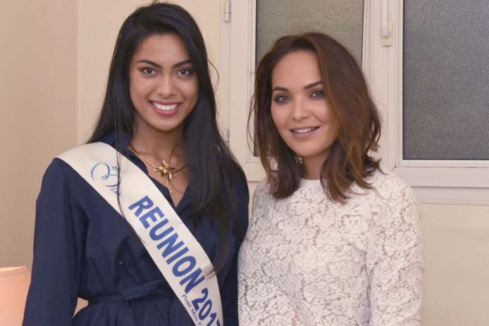 Miss Réunion 2017 et Miss Réunion 2007 devenue Miss France 2008