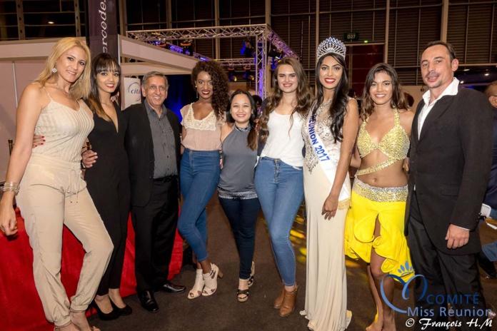 Miss Réunion 2017 et ses dauphines à la soirée Citalis
