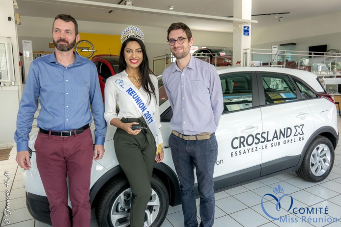 Elle a eu une Opel Crossland X, un SUV d'une valeur de 21 900 euros