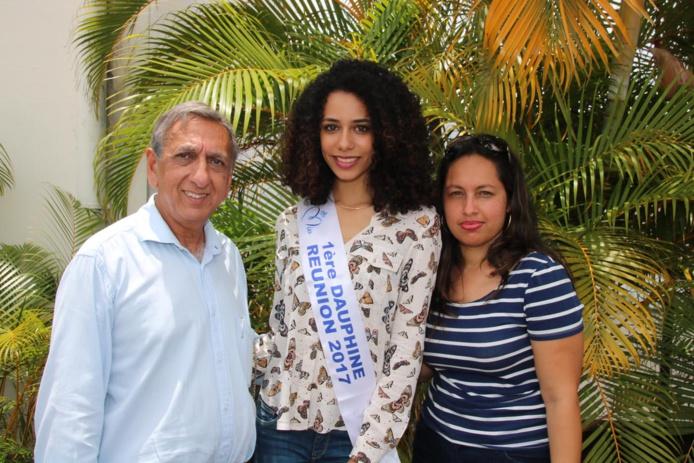 Aziz Patel, Lyna Boyer et Véronique Chapelin, cadre au Pôle Médico-Social