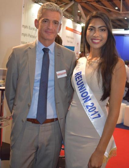 Miss Réunion au Congrès des Experts Comptables 2017 à Lille