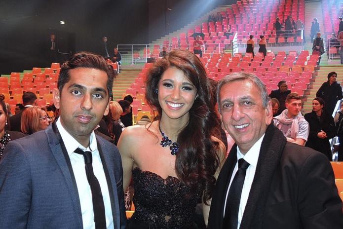 Réchad Patel, Aurore Kichenin, et Aziz Patel au M.A.CH 6 de Châteauroux