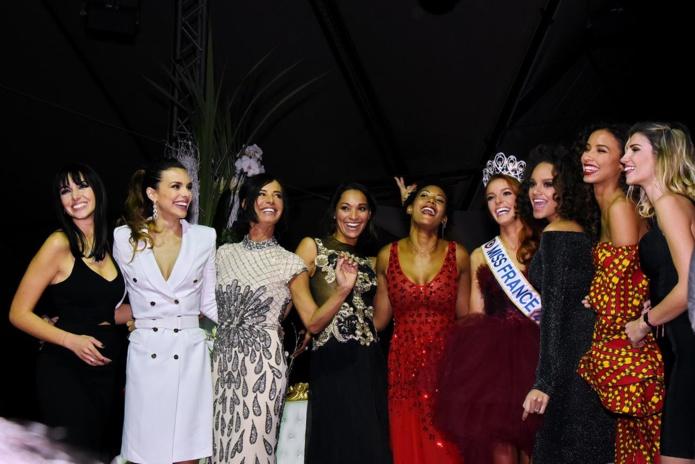 Plusieurs Miss France étaient présentes...