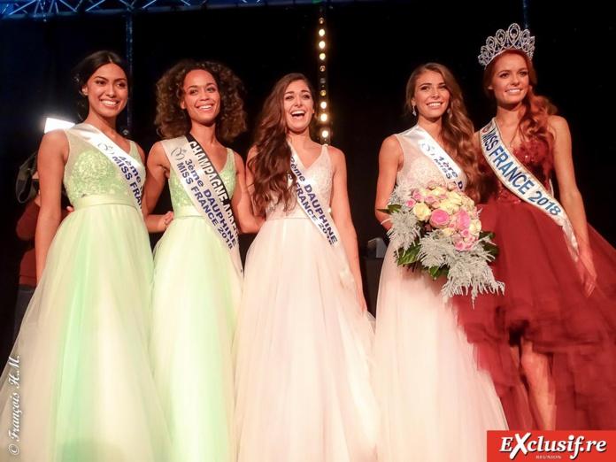 Miss France 2018 et ses dauphines