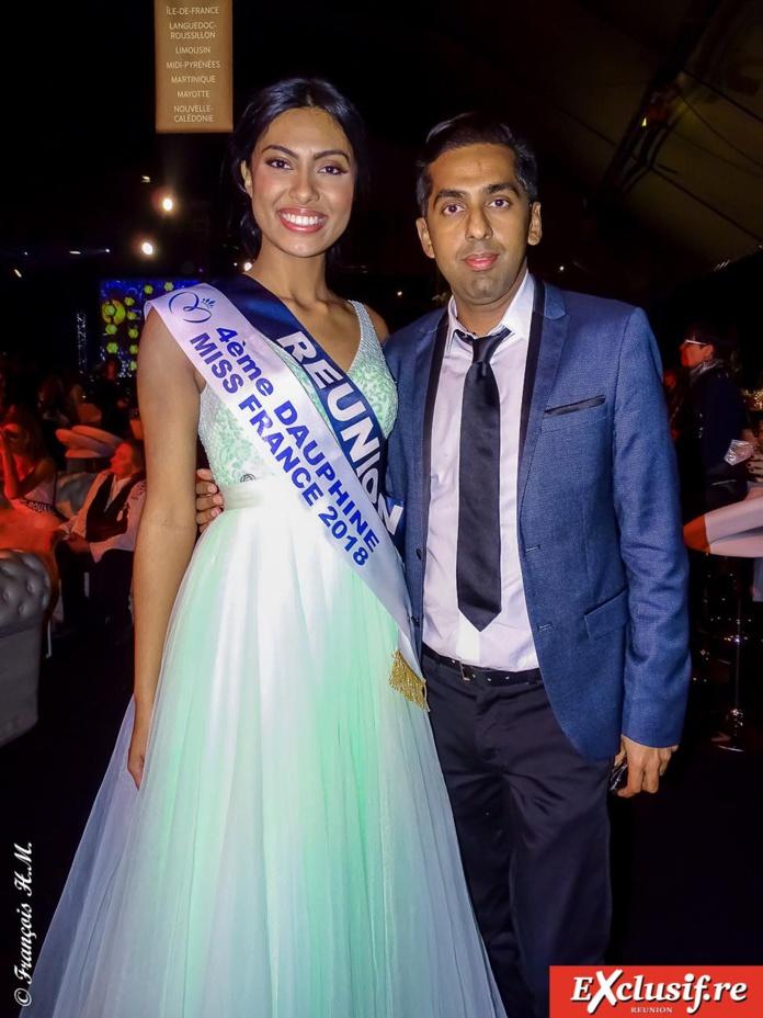 Miss Réunion et Réchad Patel, avocat