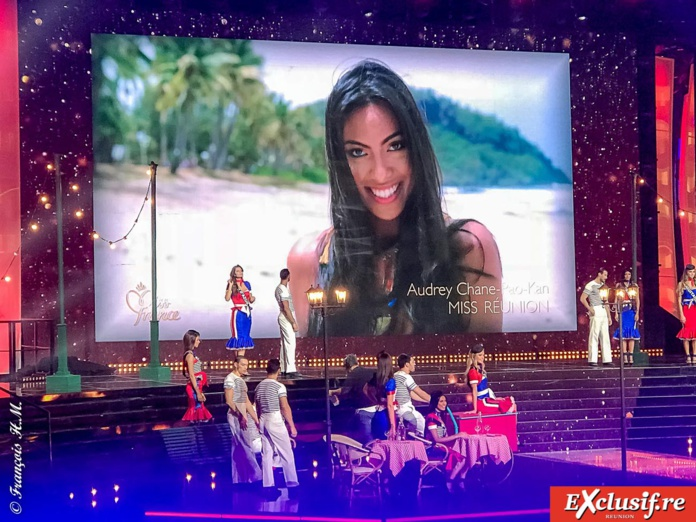 Show Miss France 2018: Audrey Chane Pao Kan 4ème dauphine