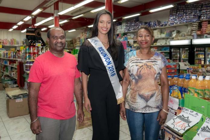 Morgane Soucramanien à la Nuit des Soldes à la Ville du Port