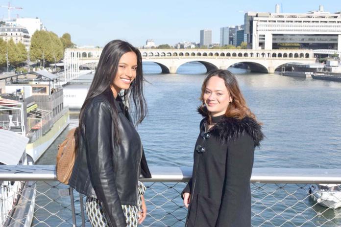 Morgane et Amélie à Bercy