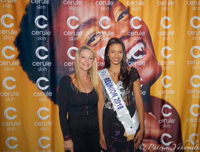 Caroline Cuozzo et MIss Réunion 2018