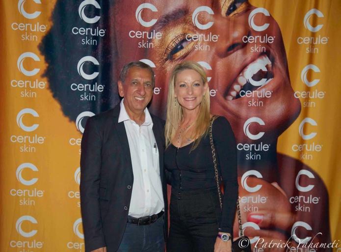 Aziz Patel, délégué Miss France, et Caroline Cuozzo