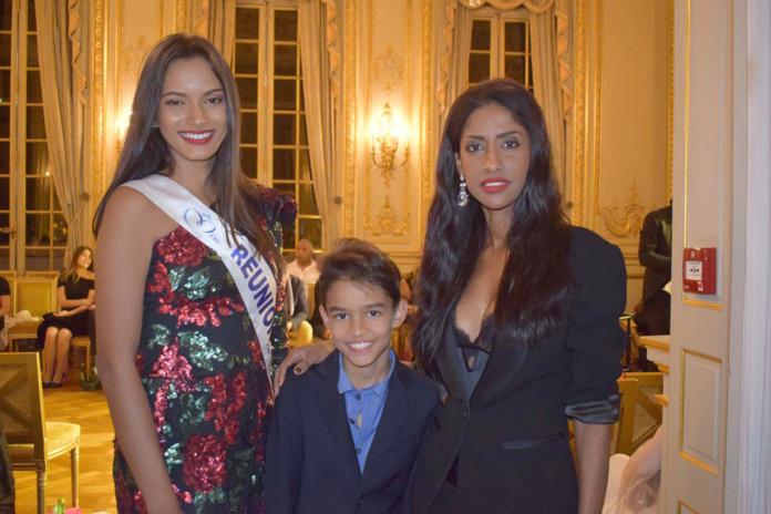Morgane avec Shirley et son fils