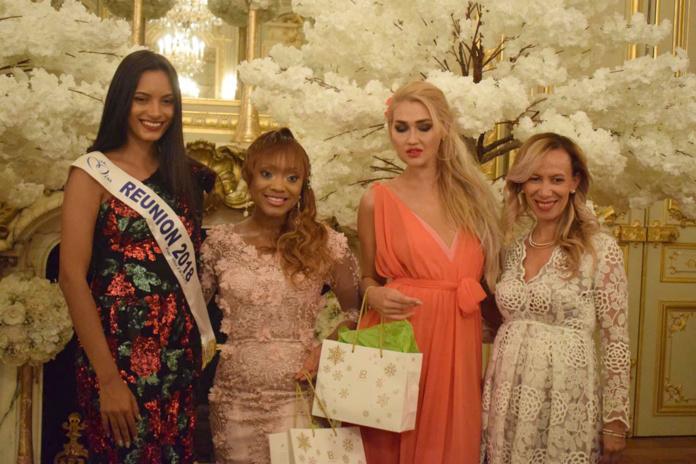 Morgane Soucramanien, Tiffany McCall, Angelina Kali, et Nadine Nectoux