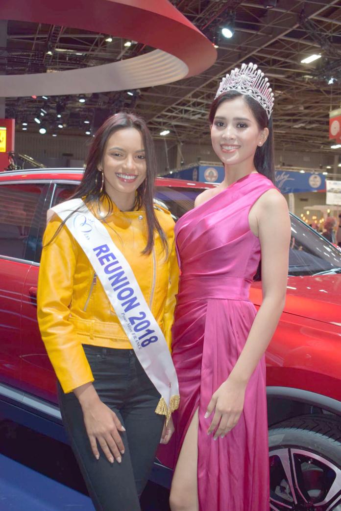 Miss Réunion et Miss Vietnam