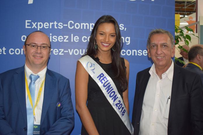 Rémy Amato, Morgane Soucramanien et Aziz Patel