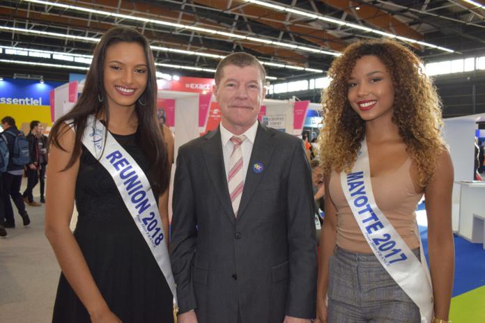 Morgane Soucramanien, Marcelino Burel, et Vanylle Emasse