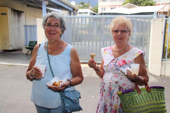 Morgane Soucramanien à la Fête des Lentilles à Cilaos