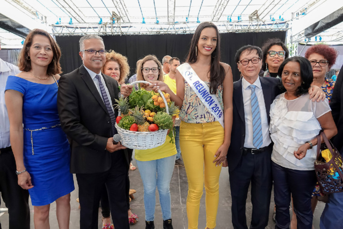 Miss Réunion 2018 à la Journée des Personnes Agées au Tampon