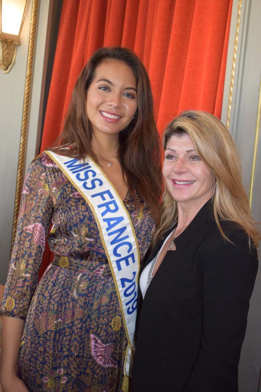 Vaimalama Chaves et Claudia Frittolini, déléguée Alsace