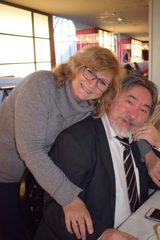 Dominique Vilain-Alard, délégué Nord Pas-de-Calais, qui avait reçu les délégués à Lille, et son épouse