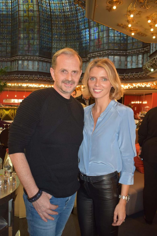 Frank Servel et Sylvie Tellier