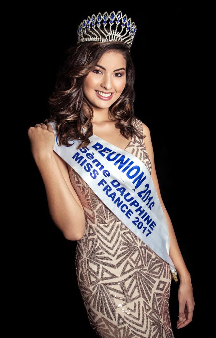 Ambre N'guyen, Miss Réunion 2016