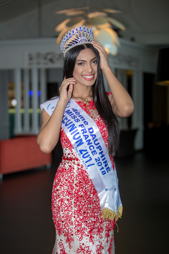 Audrey Chane Pao Kan, Miss Réunion 2017