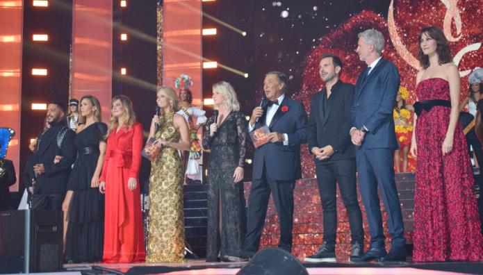 Les membres du jury de la soirée