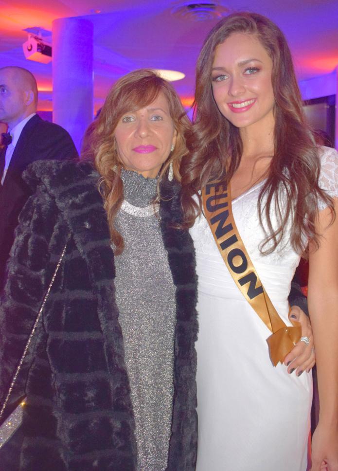Morgane Lebon avec sa maman Brigitte, venue la soutenir à Marseille