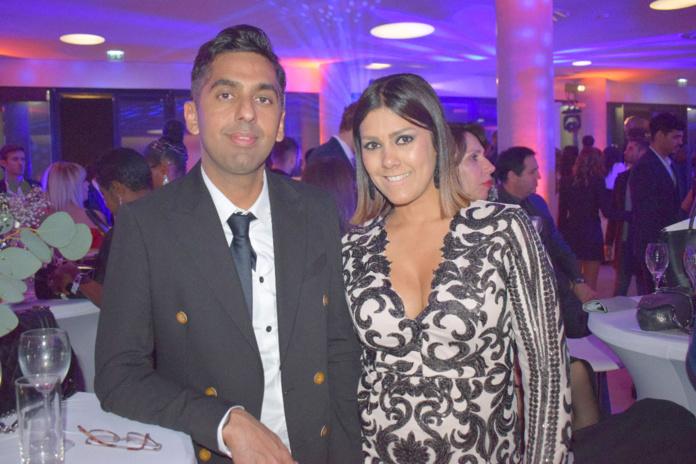 Réchad Patel, avocat, et Elodie Simonin, Réunionnaise installée à Marseille