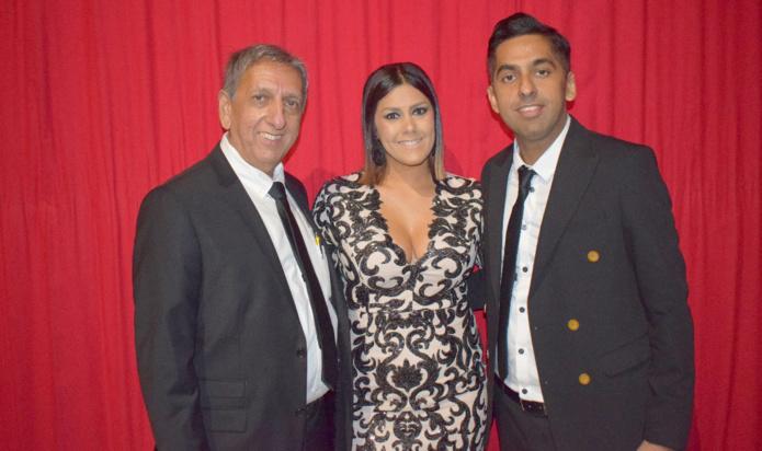 Aziz Patel, Elodie Simonin, et Réchad Patel