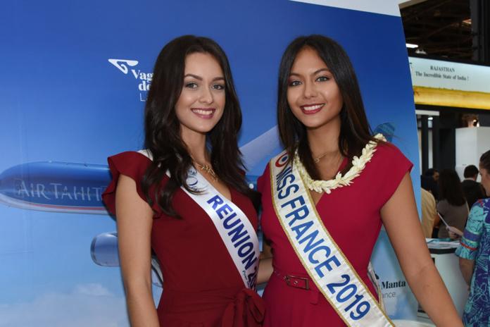 Morgane Lebon et Vaimalama Chaves, beautés des îles
